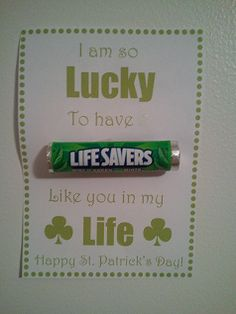 Lucky to have you  <3