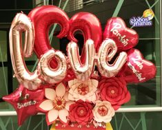 Balloon Bouquet, Balloon Arch, Valentines Balloons, Photo Booth Props, Food Gifts, Balloon Decorations, Birthday Candles, Creative, Frame