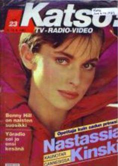 Nastassja Kinski covers  Katsos magazine 6 June 1983
