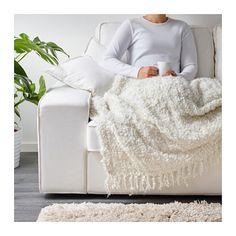 OFELIA Plaid  - IKEA. Lekkere deken om in weg te kruipen.