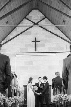 Sweetest Church Wedding