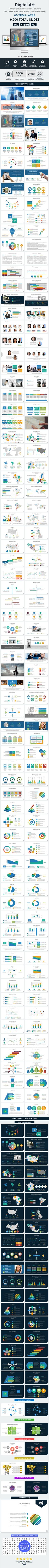 Digital Art PowerPoint Presentation Template  • Only available here ➝…