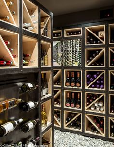 Cave à vin grand luxe