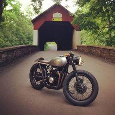 mister-georges:  Honda CB750 Cafe Racer