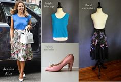 miskabelle vintage Celebrity Looks for Less (in #vintage!) Jessica Alba