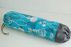 Fabric Plastic Bag Holder / Grocery Bag Holder / Black & by SUZUYA, $14.00