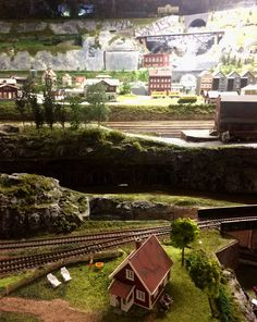 Рождественский музей с поездами в Норвегии 🚂🚂☃️❄️🎄
