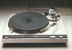 Technics SL-3200 (1978). This has been my turntable for about 3 years now. The owner selling it on Craigslist never took it out of the box and set it up!