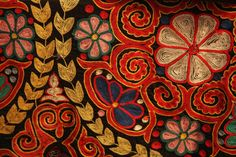 Sindhi cloth design in Pakistan! #pakistani #art