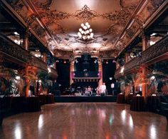 CA - The Great American Music Hall is  San Francisco's oldest nightclub. Long-time customers and newcomers alike feel at home in the 5,000-square-foot concert hall that symbolized renewal and optimism when it opened in 1907. Today, it has a professional sound and lighting system, two full bars, a modern kitchen and a spacious oak dance floor.