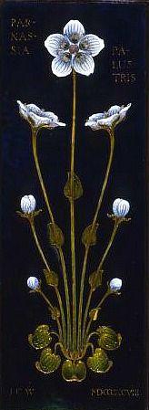James Cromar Watt  Enamelled Plaque  1898