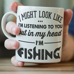 Tell them how you really feel... Reveal your true feelings with this brutally honest crockery! Give this funny fishing mug to the number 1 fisherman in your life (which, to be fair might be yourself).