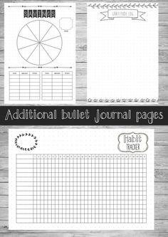 Printable Bullet Journal Starter Planner US 2017 Bullet Journal, Bullet Journal Printables, Bullet Journals, Journal Layout, Journal Pages, Bujo, Birthday Tracker, Organization Bullet Journal, Planners