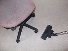 Commercial cleaning office chair
