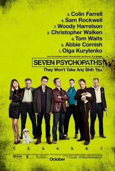 Seven psychopaths - Finally got round to watching this last night.... And it did not disappoint. #STONE², Jenna Stone, STONEsquared, www.linkedin.com/in/stonesquared, www.imdb.me/jenna-stone  www.facebook.com/stone.squared, www.stone-squared.com