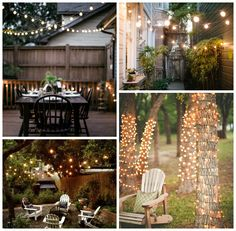 Outdoor lighting ideas: add the perfect party atmosphere and instantly dress up an otherwise boring landscape