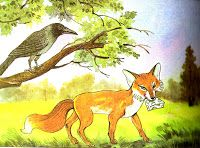 English Community: The Fox And The Crow