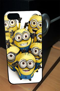 Despicable me Minion For iphone so awesome Iphone 4 Cases, Cool Phone Cases, Iphone 4s, Minions Despicable Me, My Minion, Coque Iphone 4, Future Iphone, Accessoires Iphone, Gadgets