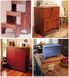 Free Shaker Style Furniture Project Plans: Classic American Designs from Popular Woodworking Magazine