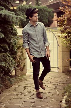 chambray and oxfords, bro