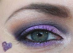 Purple Valentine's Day Makeup Tutorial -- Phyrra