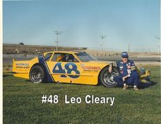 Leo Cleary Nascar Race Cars, Old Race Cars, Dirt Racing, Vintage Shorts, Vintage Racing, Leo, Race Tracks, Ford, Formula 1