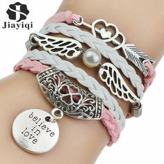 New Fashion Leather Bracelets & Bangles