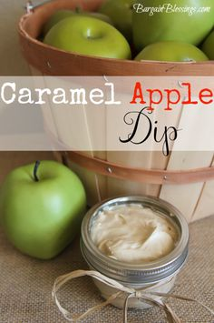 Caramel Apple Dip Recipe #fall #apples #applerecipes