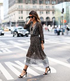 These five bloggers prove that a romantic floral maxi is not just for the warmer months. Follow their lead and transition your favourite floral dress for fall with rich textures like suede, chunky...