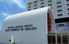 Hospital Materno Infantil José Domingo de Obaldía, en David, Chiriquí, Panamá.