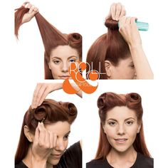 Roll and Go Victory Rolls Tool Set | Create Vintage Hair Styles Easily