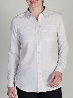 Exofficio Gill LS Shirt Women's - Bone Check