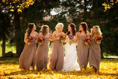 Bride with Bridesmaids :) love! @Jessica Spall @Crystal Cain @Erica Biagetti @Danyelle Marie @Emily Anne