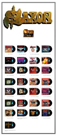 Album Art Icons: Saxon