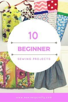 10 Beginner sewing projects. Sewing projects for beginners #beginnersewingprojects #sewingtutorial #sewingproject