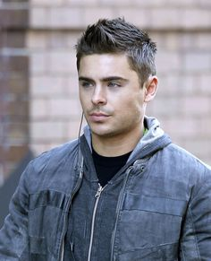 Zac Efron. 1) Puberty worked in his favor. 2) So glad that nasty hair is gone.