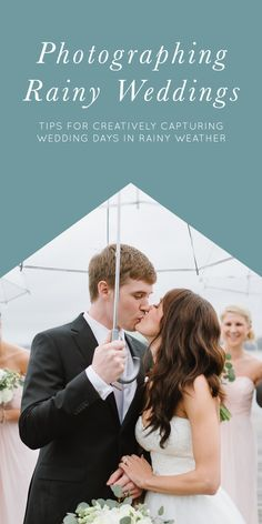 Tips for Photographing Rainy Wedding Days | Clear Umbrellas and Tips for a Flawless Wedding in the Rain http://www.nataliefranke.com/2015/06/tips-for-photographing-rainy-wedding-days/