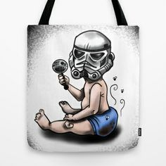 StormPooper Tote Bag by Lily Fitch - $22.00