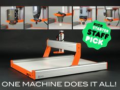 The Stepcraft 2 CNC laser router, 3D printer and more.... I can imagine that this would be incredibly useful in so many of my various crafty projects including luthiery.