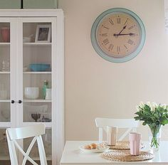 IKEA SKOVEL CLOCK The new pretty face for my kitchen It was