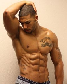 i think you got something on your bicep..and tricep and abs and everythang in between its called ME!!!!!!!