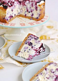 Łatwy Mega Sernik Jagodowy - Przepis - Mała Cukierenka Simply Recipes, Sweet Recipes, Cake Recipes, Dessert Recipes, Love Eat, Love Food, Helathy Food, Low Carb Side Dishes, Polish Recipes