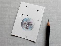 Moon by Heidi Burton / Making Strangers, via Flickr