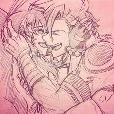 Yoko and Kamina, the ship that never even left the shore T_T