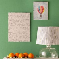 We all have blank walls, but not everyone is an artist and few of us have the budget for one-of-a-kind works. If you want the wall space in your home to be furnished, colorful, and personal, how about trying your hand at one of these do-it-yourself ideas? They won't bust your budget, and you might even have some fun along the way.