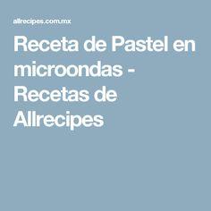 Receta de Pastel en microondas - Recetas de Allrecipes