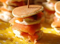 Denny Chef Blog: Blinis con Salmone e Robiola