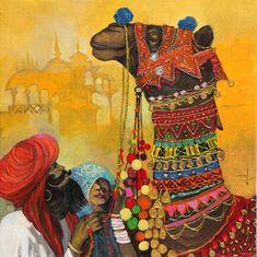 chandra mohan kulkarni paintings - Google Search