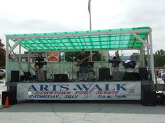 The Armonis Band performed live at the 16th Annual Arts Walk