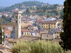 Fiesole, Italy-I was here just a week ago.  Beautiful!